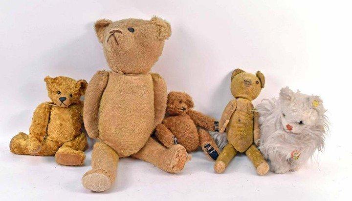 Classic Steiff Bears and Animals